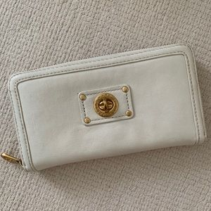 Marc by Marc Jacobs Turnlock Zip Around Wallet